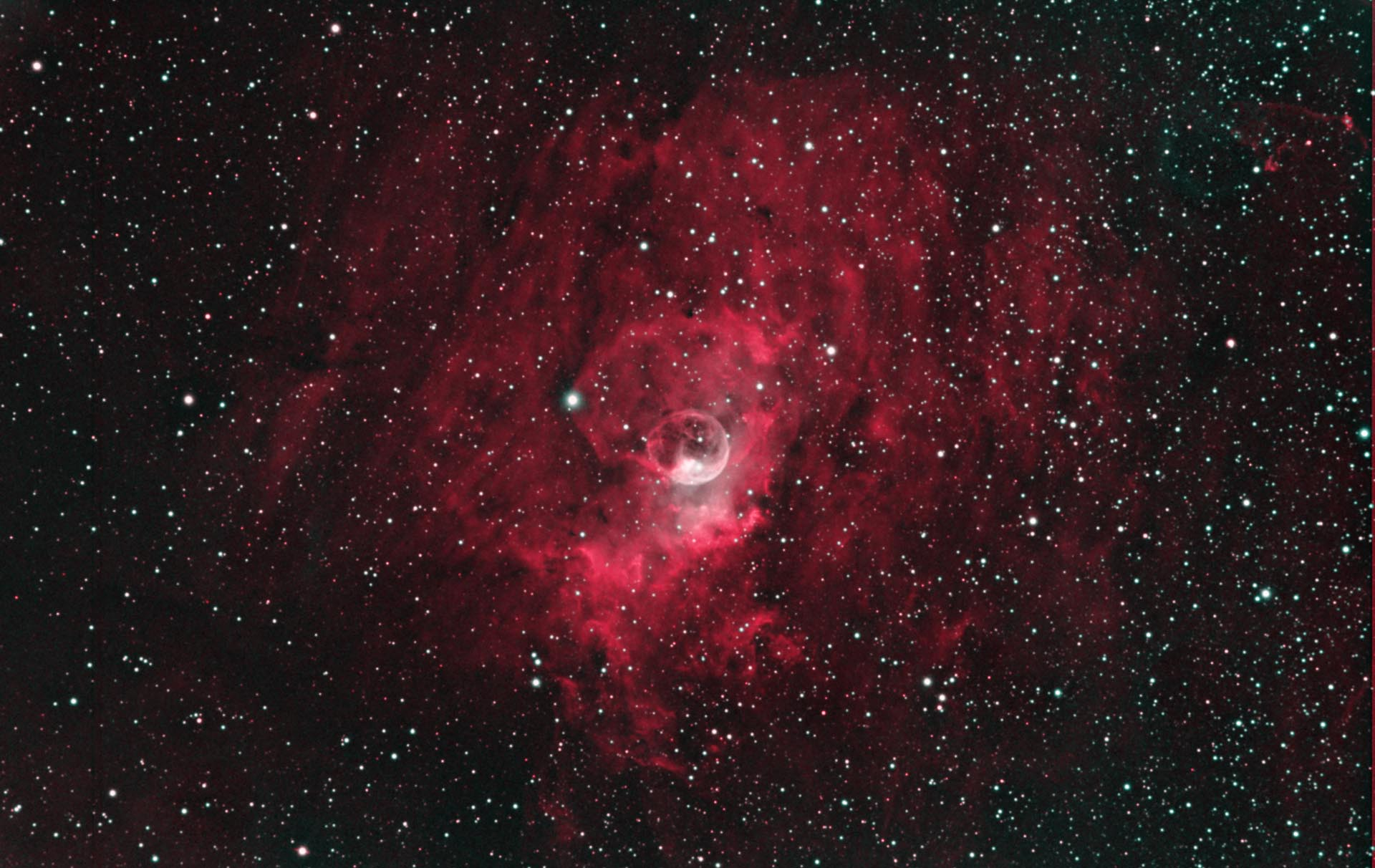 NGC 7635 aka, Bubble Nebula