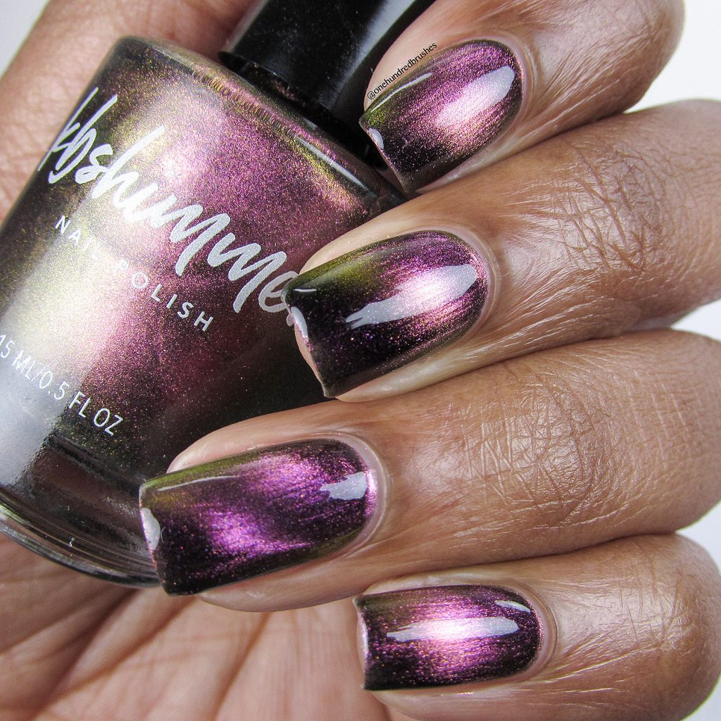 Just A Phase, Launch Party Collection, KB Shimmer, Magnetic polish, bottle shot, One Hundred Brushes