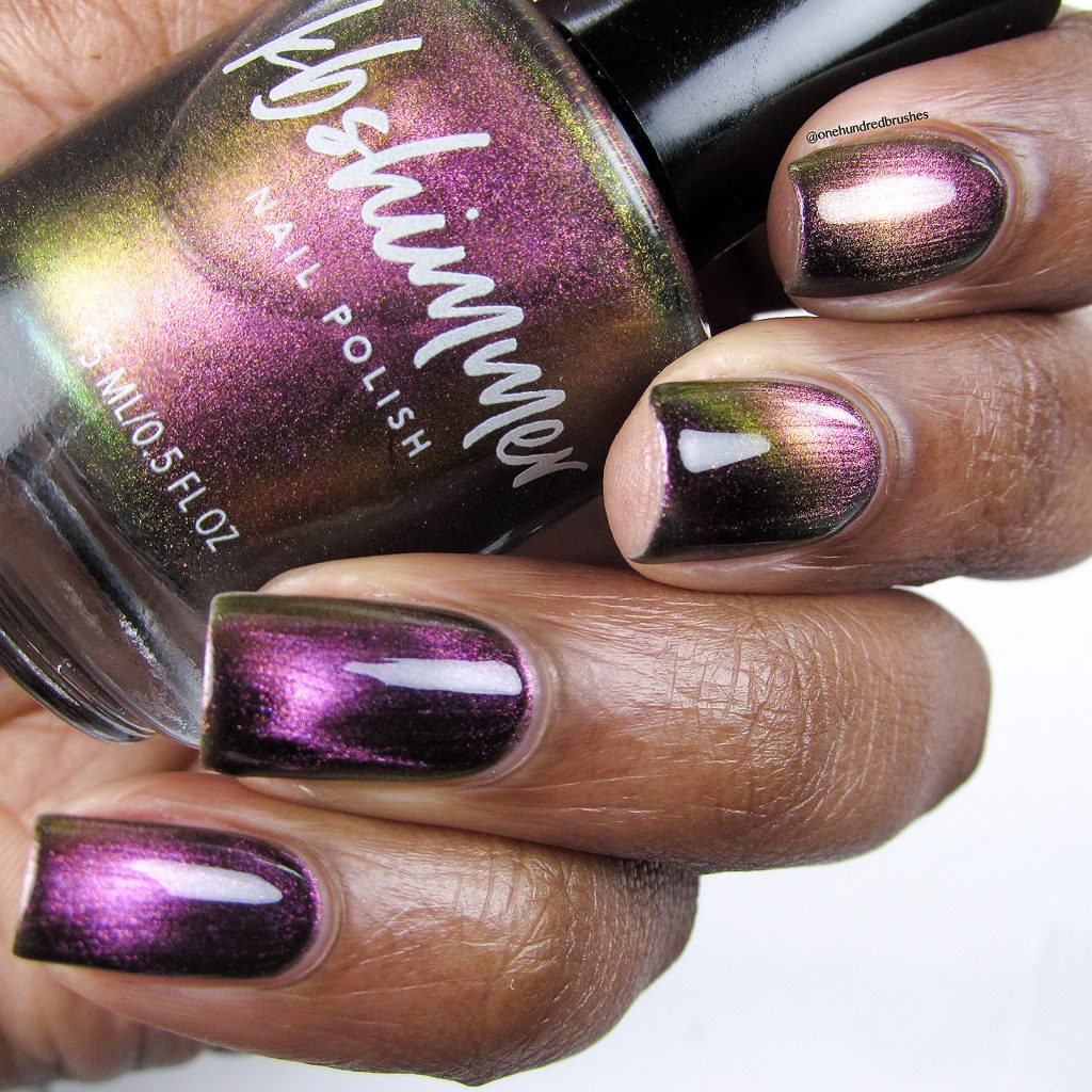 Just a Phase magnetic polish, Launch Party, K B Shimmer, One Hundred Brushes