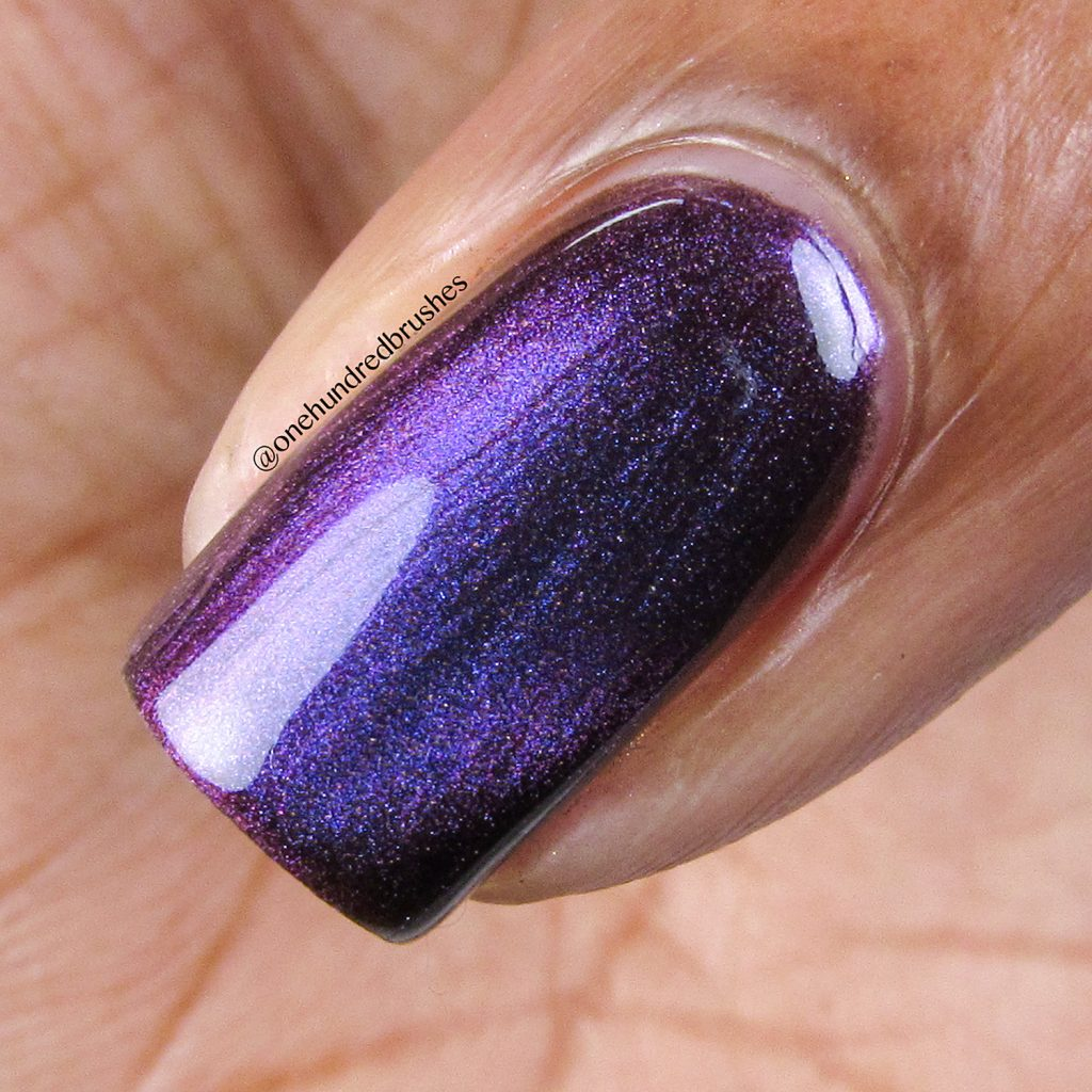 Orbits and Pieces, macro, KB Shimmer, magnetic polish